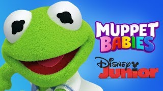 Muppet Babies Kermit Mini Games For Toddlers  - Disney Junior App For Kids
