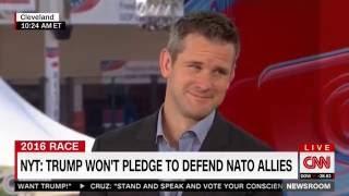 July 21: Rep Kinzinger joins Carol Costello on CNN