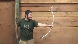 40 Pound PVC Bow Freehand Tapered - No Flattening Jig Needed