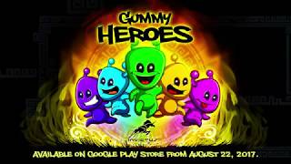 Gummy Heroes Android HD Trailer