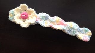Download Simple shell stitch Baby head band crochet in Tamil 3Gp Mp4