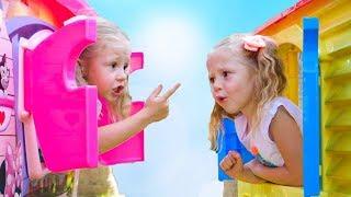 Настя и папа - весёлая история для детей про двойняшек