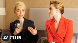 Evan Rachel Wood and Julia Sarah Stone talk about the challenge of portraying abusive relationships