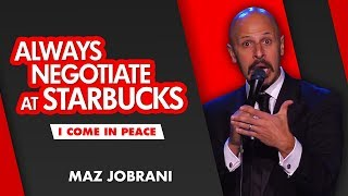 """Always Negotiate at Starbucks"" 