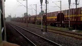 Skipping Asansol Junction and crossing Amritsar- Sealdah Express: Howrah New Delhi Duronto on-board