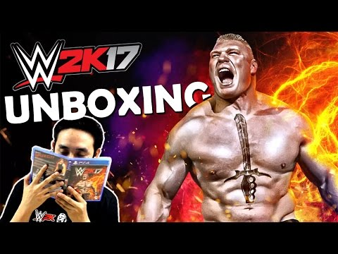 WWE 2K17 (PS4) Pre-Order Edition Unboxing