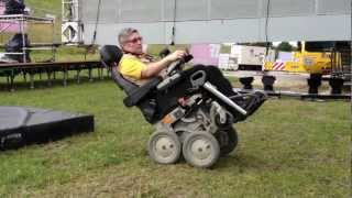 iBot 4000 mobility system wheelchair in action at the Milton Keynes International Festival