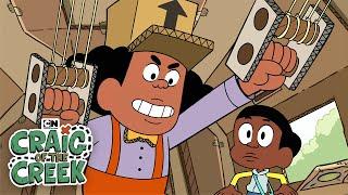 Craig of the Creek | Attack On Cardboard City | Cartoon Network