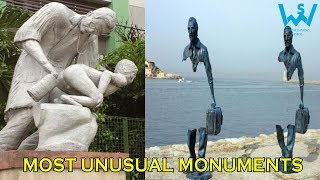 Strange and Unusual monuments in the world | Bizarre monuments