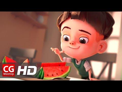 "CGI Animated Short Film: ""Watermelon A Cautionary Tale"" by Kefei Li & Connie Qin He | CGMeetup"