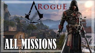 Assassin's Creed Rogue - All Missions | Full game 100% sync