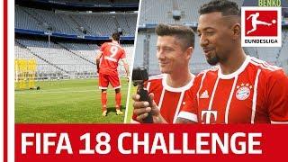 Boateng, Lewandowski & Video Assistant - EA Sports FIFA 18 Bundesliga Free Kick ChallengeSpecial