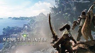 MONSTER HUNTER WORLD - Gameplay da Beta / Demo, no PS4 Pro!
