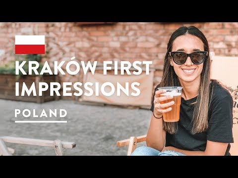 POLAND IS AWESOME KAZIMIERZ KRAKOW Jewish Quarter Travel Vlog 2018