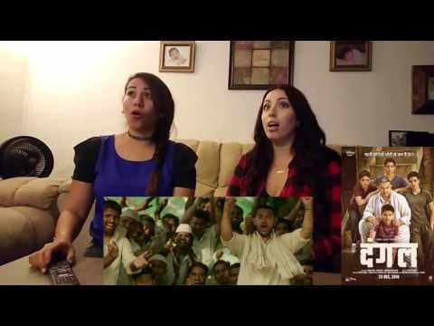 Dangal Official Trailer Cynthia's and Amber Reaction   Aamir Khan Disney