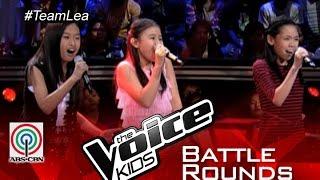"The Voice Kids PH 2015 Battle Performance: ""Kapag Tumibok Ang Puso"" by Jiah vs Akisha vs Kiyana"
