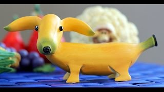 How to Make Banana Decoration | Banana Art | Fruit Carving Banana Garnishes
