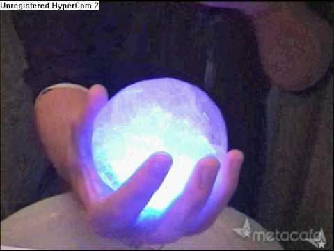 Como fazer uma bolha de gelo brilhante