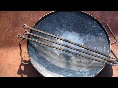 Как сделать сковородку своими руками