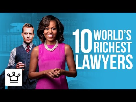 Top 10 Richest Lawyers In The