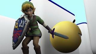 Pacman vs Link