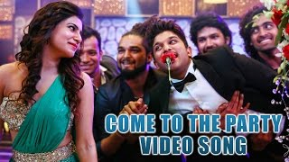 S/o Satyamurthy Movie || Come To The Party Video Song || Allu Arjun || Trivikram