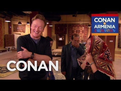 Conan Buys Sona s Family A Rug CONAN on TBS