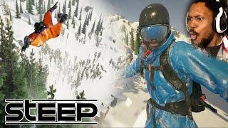 LOOK MA, I'M FLYING! | Steep Gameplay