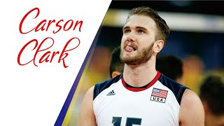 Top 15 Lefthanded Spikes by CARSON CLARK | Hitter of USA Volleyball