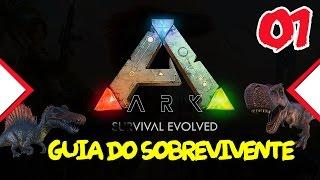 Ark survival Evolved -  Como iniciar bem - Ferramentas básicas - Ep 01