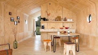 Amazing Prefab Tiny House built using Cardboard