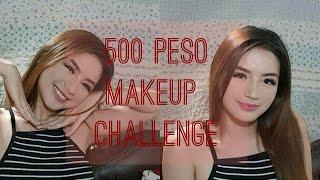 500 Peso Makeup Challenge || Steph Lagera