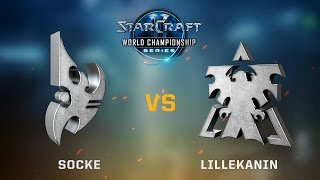 StarCraft 2 - Socke vs. Lillekanin (PvT) - WCS Jönköping Challenger EU - Qualifier #1