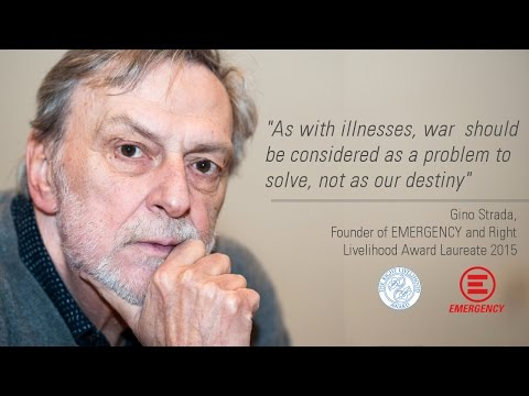 Gino Strada / EMERGENCY NGO: abolishing war is urgently needed - speech @ RLA2015 (3/3)