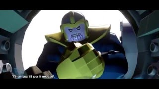 LEGO MARVEL's Avengers Age Of Ultron End Credits Scene with Thanos and Stan Lee HD