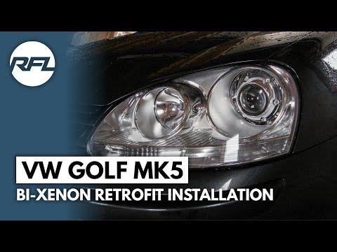 Xxx Mp4 VW Golf MKV 5 V Bi Xenon Projector Retrofit Installation Video 3gp Sex