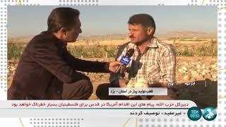 Iran Organic Onion harvest, Erdi rural district, Abar-Kouh county برداشت پياز دهستان اردي ابركوه
