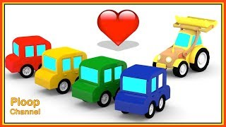 Cartoon Cars TRACTORS LOVE SONG! - Cars Cartoons for Children - Childrens Animation Videos for kids