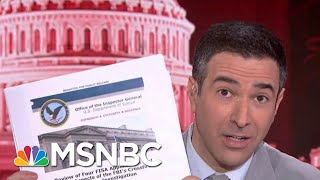 'All Lies': See Trump's Own DOJ Shred His 'Witch Hunt' Claims | The Beat With Ari Melber | MSNBC