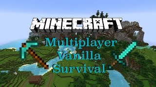 Minecraft: Multiplayer Vanilla Survival Let's Play Episode 15: The Nether Is Rough Man!