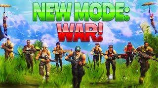 NEW MODE - WAR! (Fortnite Battle Royale)