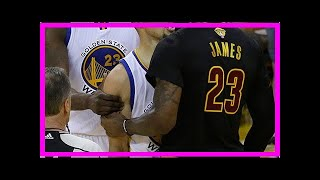 Breaking News | LeBron James and Stephen Curry exchange heated trash talk in overtime of Game 1 of