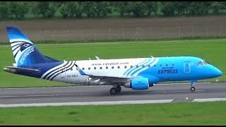 EgyptAir Express Takeoff at Vienna Airport || SU-GDJ