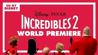 Incredibles 2 World Premiere Live Stream Presented by Alaska Airlines