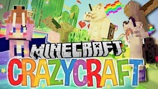 Winged Monkey Pranks!   Ep 40   Minecraft Crazy Craft 3.0