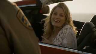 Paul Woodrugh pulls over a hot actress - True Detective Season 2