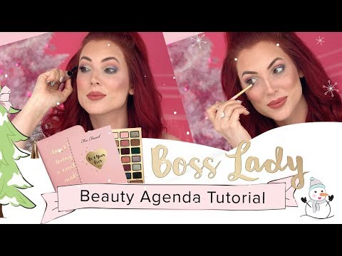 Too Faced Boss Lady Beauty Agenda – Makeup Collection Tutorial