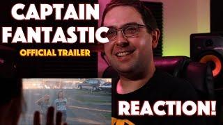REACTION! Captain Fantastic Official Trailer - Viggo Mortensen Drama