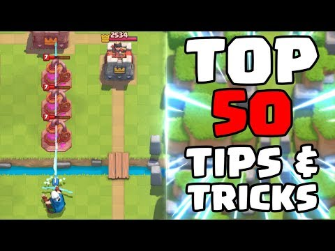Top 50 Tips & Tricks in Clash Royale Ultimate Clash Royale Pro Guide
