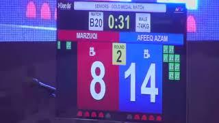 Taekwondo MASUM 2018- Mazuqi(UTEM) vs Afeeq Azam(UITM)
